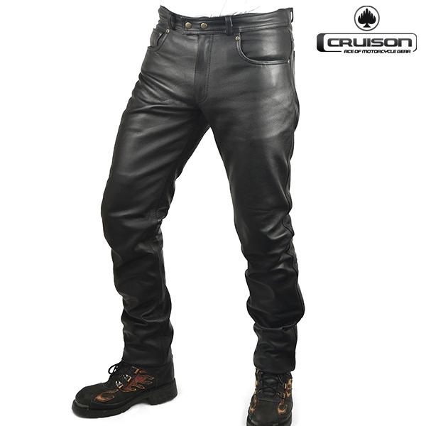 Moto oblečení - Kalhoty CRUISON CLASSIC černé