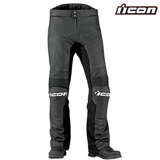 Kalhoty a chapsy - Kalhoty ICON OVERLORD PRIME BLACK
