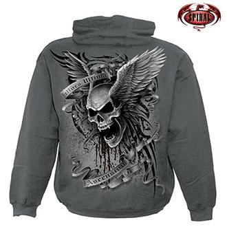 Moto oblečení - Mikina s kapucí pánská - SPIRAL Ascension