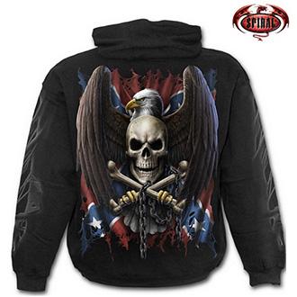 Trička, mikiny, košile - Mikina s kapucí pánská - SPIRAL Rebel Eagle