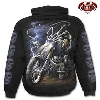 Moto oblečení - Mikina s kapucí pánská - SPIRAL Ride to Hell