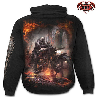 Trička, mikiny, košile - Mikina s kapucí pánská - SPIRAL Steam Punk Rider