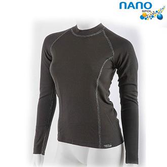 Moto oblečení - Nanobodix An-Atomic - dámské triko s dlouhým rukávem