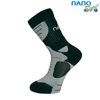 Termoprádlo - Nanosox An-Atomic - anatomické ponožky šedé