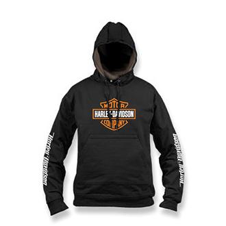 Trička, mikiny, košile - Moto mikina s kapucí Harley-Davidson pánská