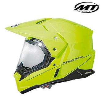 Moto oblečení - Helma MT SYNCHRONY DUO SPORT YELLOW