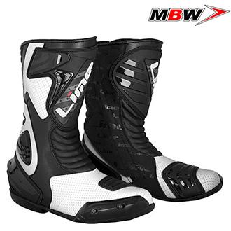Moto oblečení - Boty MBW SP111 BLACK/WHITE
