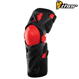Moto oblečení - Chrániče THOR FORCE XP KNEE GUARD RED