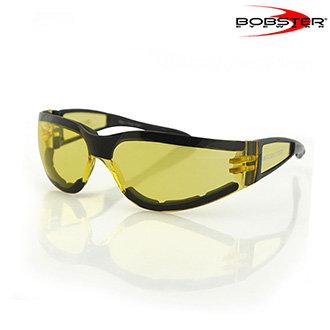 Brýle a goggles - Brýle BOBSTER SUNGLASS SHIELD II Black/Yellow