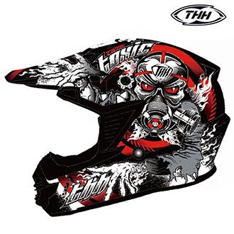 Moto oblečení - Helma THH TX-15 2RED