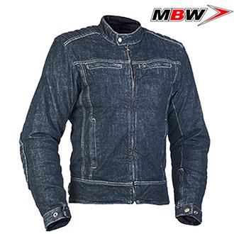Moto oblečení - Bunda MBW JAMES DENIM