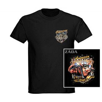 Trička, mikiny, košile - Tričko 2P krátký rukáv - American Hawgs