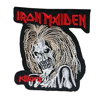 Volný čas a dárky - Nášivka Iron Maiden malá