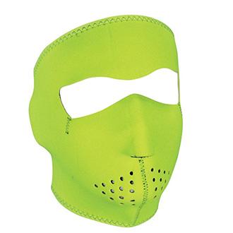 Moto oblečení - Maska HI VIS Lime