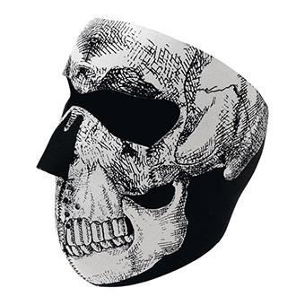 Chrániče, ledviňáky, nákrčníky - Maska Skull Face