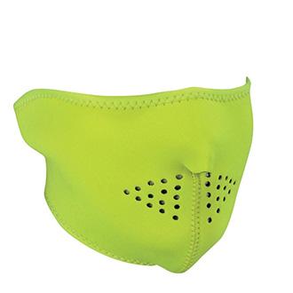 Moto oblečení - Maska Half HI VIS Lime