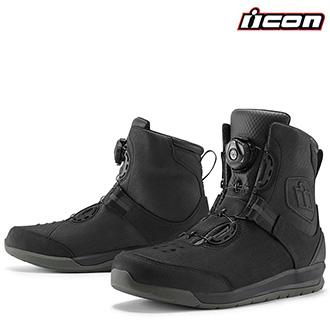 Moto oblečení - Boty ICON PATROL 2 BLACK