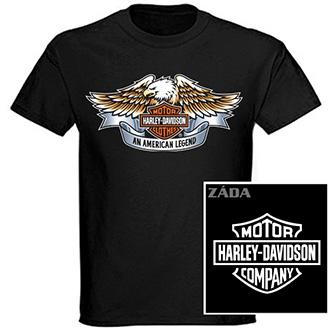 Trička, mikiny, košile - Tričko krátký rukáv - Harley-Davidson An American Legend