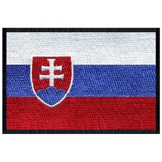 Volný čas a dárky - Nášivka vlajka Slovensko