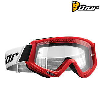 Brýle a goggles - Brýle THOR COMBAT RED/BLACK