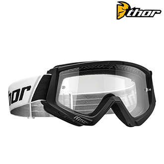 Brýle a goggles - Brýle THOR COMBAT BLACK/WHITE