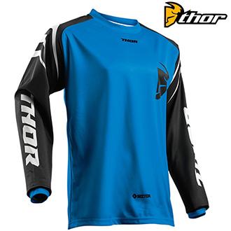 Dětské moto oblečení - dětský dres THOR YOUTH SECTOR BLUE