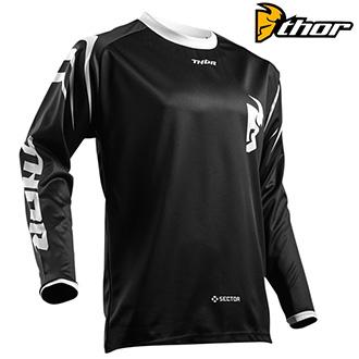 Dětské moto oblečení - dětský dres THOR YOUTH SECTOR BLACK
