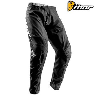 Dětské moto oblečení - dětské kalhoty THOR YOUTH SECTOR BLACK