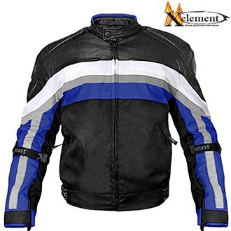 Moto oblečení - Bunda XELEMENT BRASSARD RIDER BLUE II