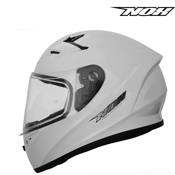 Dětské moto oblečení - Helma NOX N961K WHITE