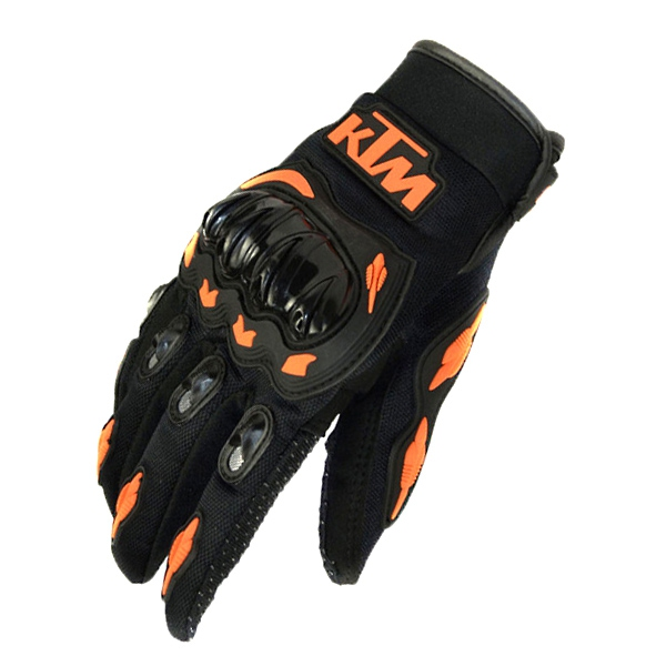 Rukavice - Rukavice KTM BLACK/ORANGE