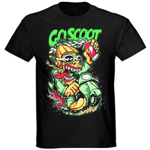 Trička, mikiny, košile - Tričko krátký rukáv - Goscoot
