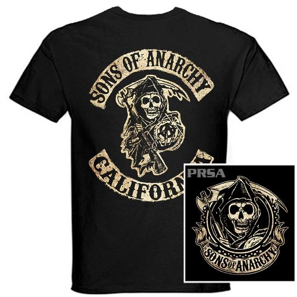 Trička, mikiny, košile - Tričko krátký rukáv - Sons of Anarchy