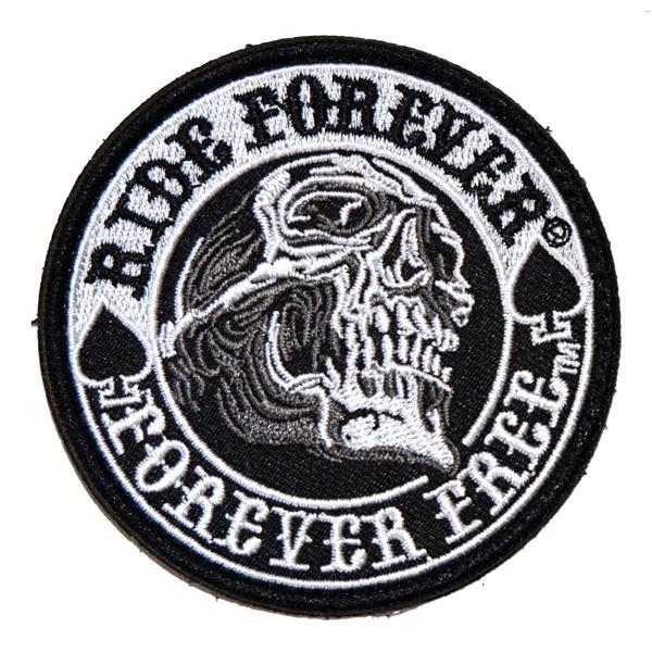 Volný čas a dárky - Nášivka Ride Forever malá cf91fb3c4c