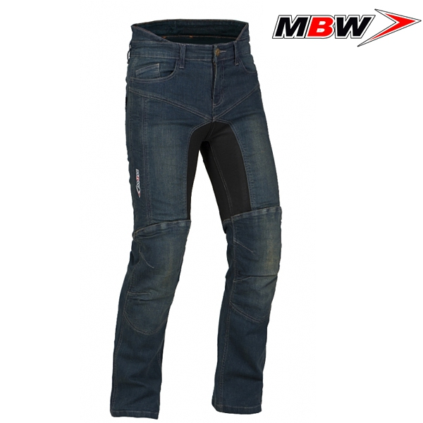 Kalhoty a chapsy - Kalhoty MBW KEVLAR DIEGO BLUE