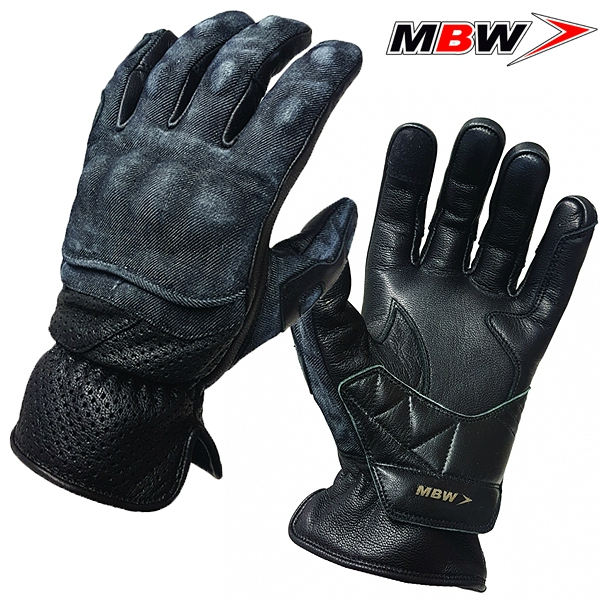 9c42c758604 Rukavice MBW DENIM GLOVES - lehké moto rukavice