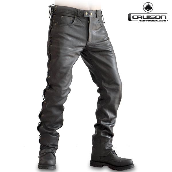 Kalhoty a chapsy - Kalhoty CRUISON LACE JEANS