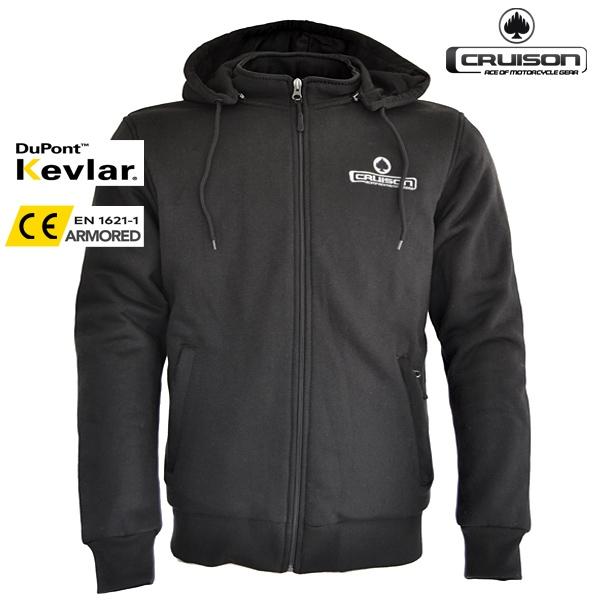 Moto oblečení - Kevlarová mikina CRUISON BASE