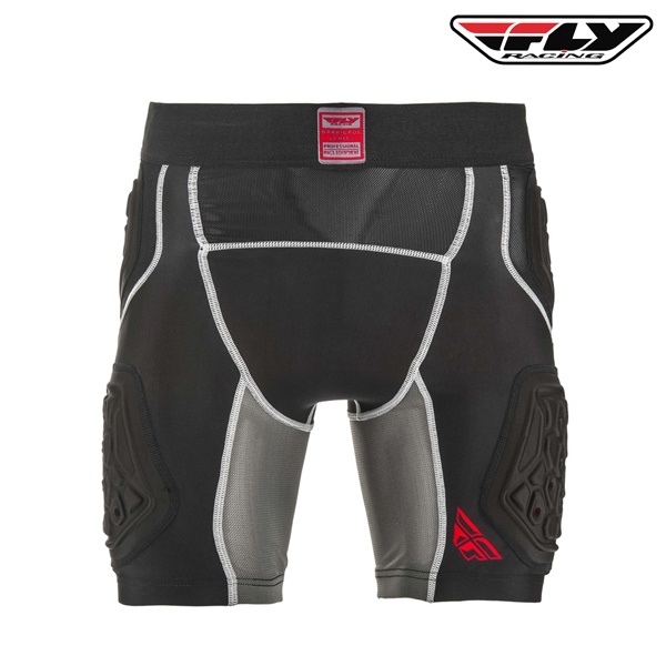 Motokros oblečení - Ochranné kompresní šortky FLY RACING Barricade