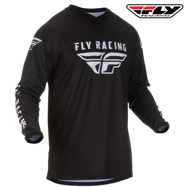 Motokros oblečení - Dres FLY RACING Universal 2020 (černá)