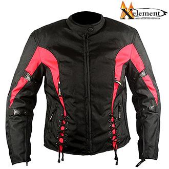 Moto oblečení - Bunda XELEMENT RED BOOSTED
