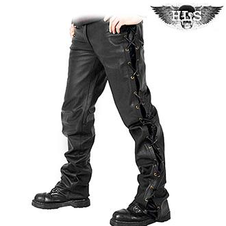 Kalhoty a chapsy - Kalhoty HLS LACE JEANS