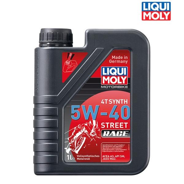 Náplně a údržba - Motorový olej MOTORBIKE 4T SYNTH 5W-40 RACE - 1L