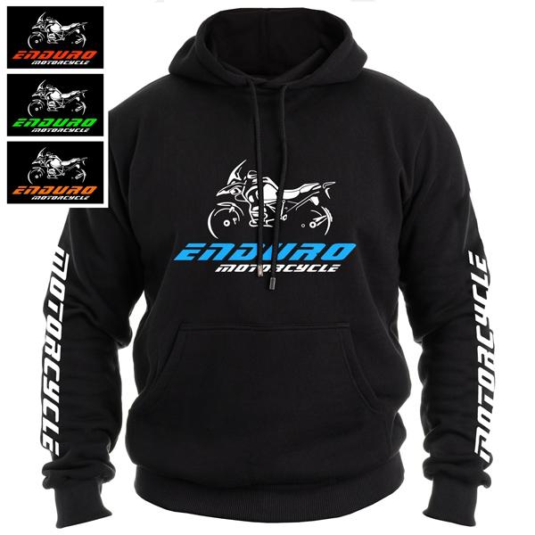 Moto oblečení - Moto mikina ENDURO MOTORCYCLE pánská