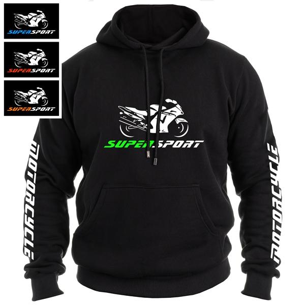 Moto oblečení - Moto mikina SUPERSPORT pánská