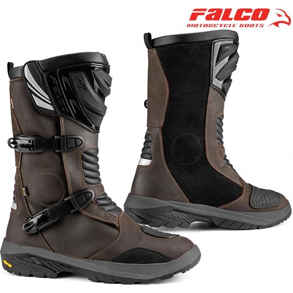 Moto oblečení - Boty FALCO 412 MIXTO 3 ADV BROWN