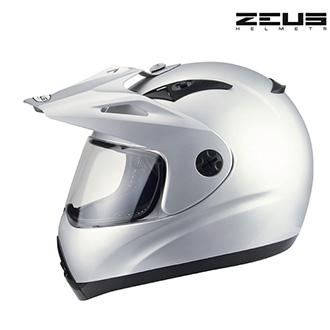 Moto oblečení - Helma ZEUS TRACER SILVER