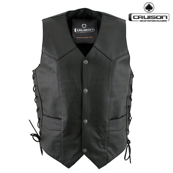 Moto oblečení - Vesta CRUISON LACED