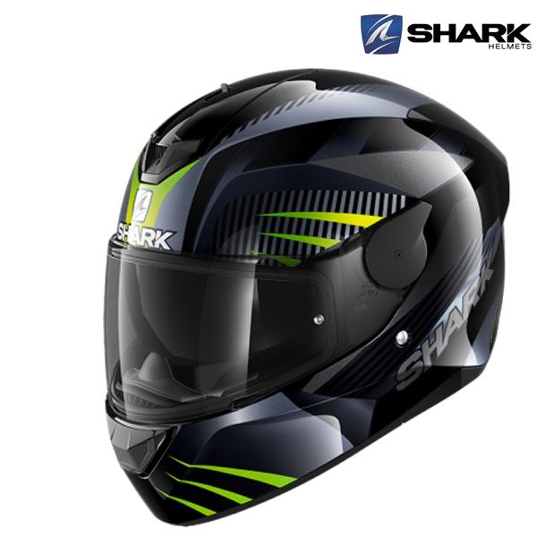 Moto oblečení - Helma SHARK D-SKWAL 2 MERCURIUM KAG