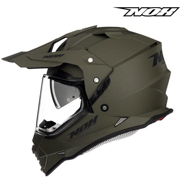 Moto oblečení - Helma NOX N312 khaki matná